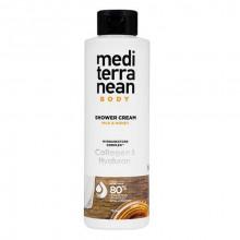 """Mediterranean Cosmetics Care Крем-гель для душа """"Молоко и мёд"""" Milk & Honey"""