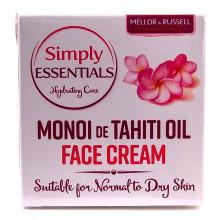 Крем для нормальной и сухой кожи лица с маслом Моной Simply Essentials Mellor & Russell