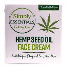 Mellor & Russell Simply Essentials Успокаивающий и защитный крем для сухой и чувствительной кожи лица с конопляным маслом