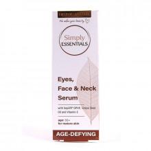 Сыворотка для лица, шеи и кожи вокруг глаз с гиалуроновой кислотой и кокосовым маслом Age Defying Simply Essentials Mellor & Russell