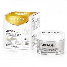 Mincer Pharma Увлажняющий дневной крем № 801 Argan Life