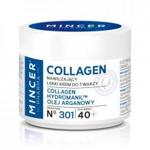 Mincer Pharma Легкий увлажняющий крем для лица 40+ №301 Collagen