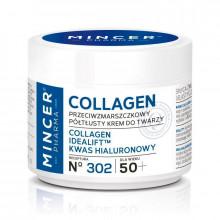 Mincer Pharma Полужирный антивозрастной крем для лица против морщин 50+ №302 Collagen