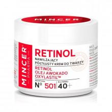 Mincer Pharma Увлажняющий крем для лица 40+ №501 Retinol - Увлажнение (арт.23510)