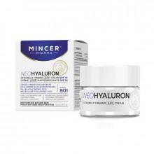 Mincer Pharma Интенсивный дневной крем, повышающий упругость, для зрелой и обезвоженной кожи SPF10 №901 Neo Hyaluron