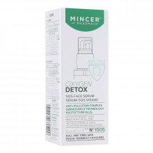 Mincer Pharma Регенерирующая сыворотка для лица для тусклой и уставшей кожи №1505 Oxygen Detox