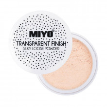 Miyo Пудра транспарентная рассыпчатая Transparent Finish Powder
