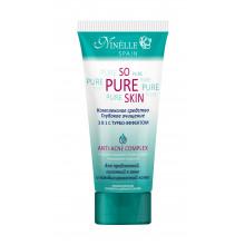 """Ninelle Комплексное средство """"Глубокое очищение 3в1 с турбо-эффектом"""" для проблемной кожи So Pure Skin"""