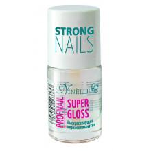 Ninelle Быстросохнущее верхнее покрытие Profnail Super Gloss