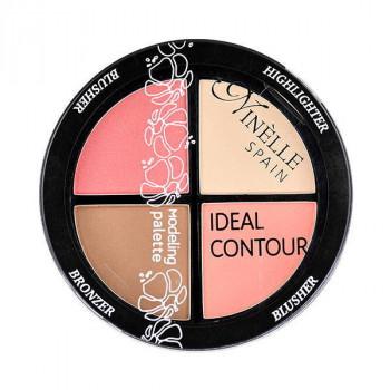 Ninelle Палетка для моделирования лица Ideal Contour