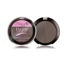 Ninelle Палетка для моделирования бровей (воск+тени) Brow Make-Up