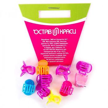 OK Набор цветных детских крабиков для волос
