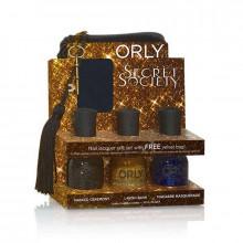 Orly Набор с бархатной косметичкой Secret Society