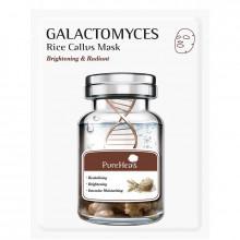 PureHeal's Тканевая маска с галактомисом для сияния кожи лица