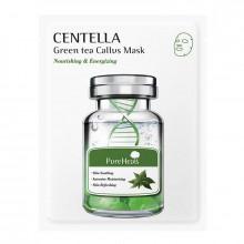 PureHeal's Восстанавливающая тканевая маска с экстрактом центеллы и зеленого чая