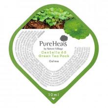 PureHeal's Восстанавливающая маска для лица с экстрактом центеллы 65 и зеленым чаем (саше)