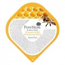PureHeal's Ночная увлажняющая маска для лица с экстрактом прополиса 80 (саше)