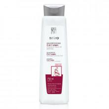 Шампунь для поврежденных и сухих волос 2в1 с Арганой Sairo Family Size