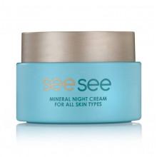 See See Ночной крем с минералами Мертвого моря для всех типов кожи лица