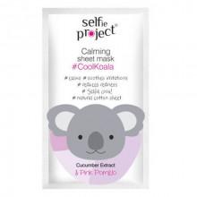 Selfie Project Успокаивающая маска для лица Cool Koala (тканевая)