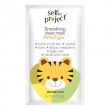 Selfie Project Разглаживающая маска для лица Wild Tiger (тканевая)