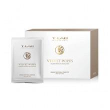T-Lab Professional Салфетки для очищения кожи после окрашивания Velvet Wipes