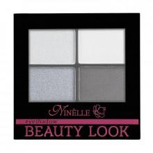 Ninelle Компактные тени для век Beauty Look (4-х цветные)