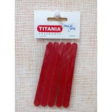 Titania Набор маникюрных пилочек, 5шт