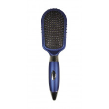Titania Синяя массажная щетка для волос