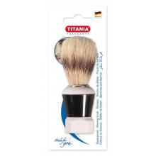 Titania Помазок для бритья с пластиковой ручкой