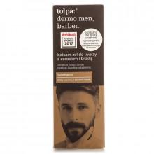 Tolpa Парикмахерский бальзам-гель для лица и бороды Men Barber