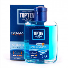 Лосьон после бритья для нормальной кожи с D-пантенолом Active Top Ten for men