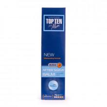 Бальзам после бритья для нормальной кожи с пантенолом Active Top Ten for men