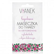 Vianek Смягчающая маска для лица с экстрактом белой глины и кокосовым маслом