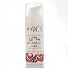 Vianek Антивозрастной дневной крем для жирной кожи лица с экстрактом красного клевера