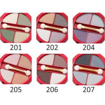 Распродажа Victoria Shu Четырехцветные тени для век Dream