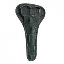 Zauber Чехол для ножниц кожаный, черный, MS101A1