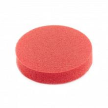 Zauber Спонж для макияжа косметический, красный круглый, S-070