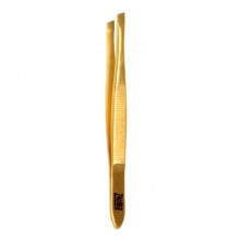 ZauberПинцет для бровей, золотой, Т-373